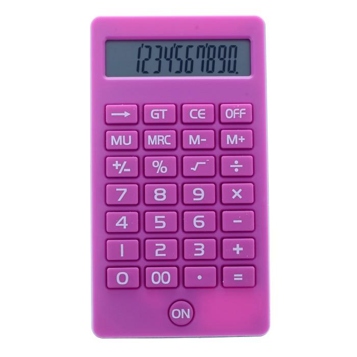 Калькулятор карманный, 12-разрядный, KK-108, МИКС