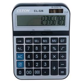 Калькулятор настольный, 16-разрядный, CL-326, двойное питание