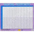 Таблица умножения перекрестная до 20. (200х160 мм)