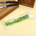 Точилка для ножей Доляна «острое лезвие», 19×4,5 см, с ручкой и шлифовкой, цвет МИКС - Фото 6