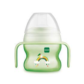 Поильник StarterCup, сосверхмягкимносиком, 150мл., цвет зелёный, от 4 месяцев
