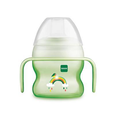 Поильник StarterCup, сверх мягкиq носик, 150 мл., цвет зелёный, от 4 месяцев - Фото 1
