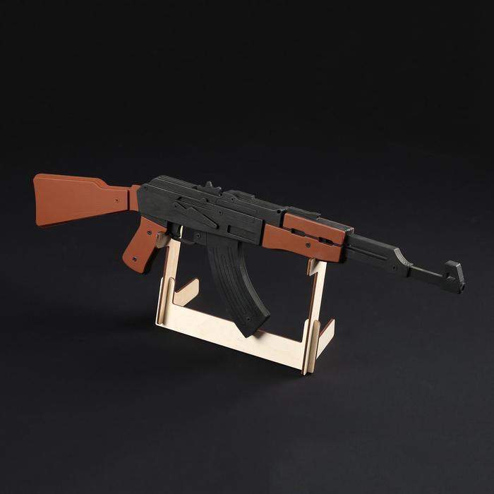 """Резинкострел """"АК-47"""", окрашенный, автоматический"""