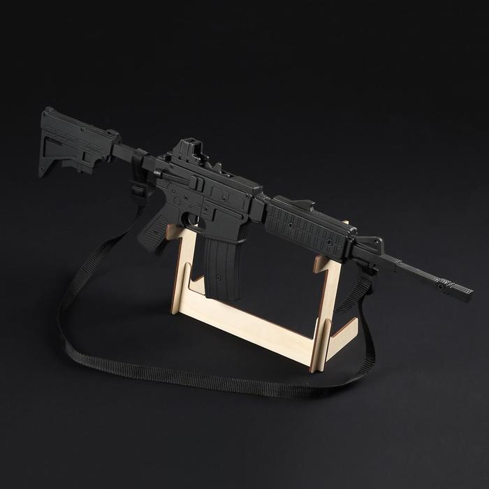 """Резинкострел """"Винтовка М4"""", с телескопическим прикладом, окрашенный, автоматический"""