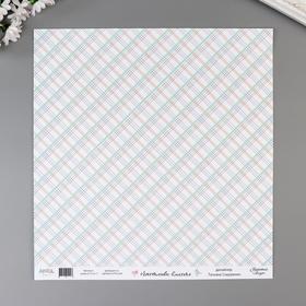"Бумага для скрапбукинга ""Счастливы вместе"" 30,5х30,5 см, 190 гр/м2"