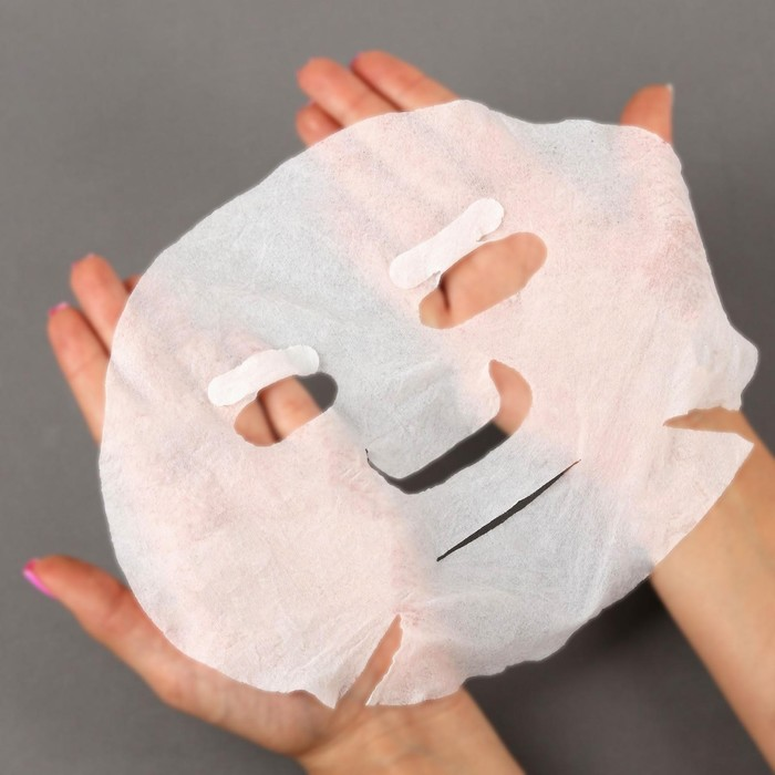 Набор косметических масок для лица, в таблетках, 50 шт, цвет белый