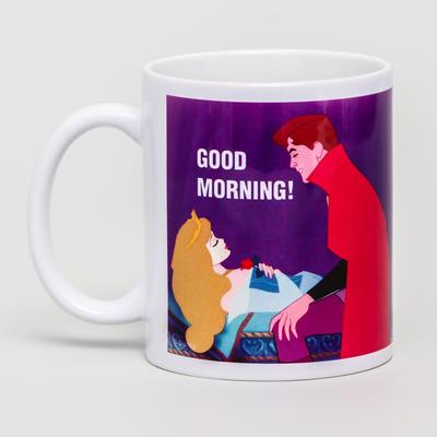 Кружка сублимация Good morning, Принцессы, 350 мл