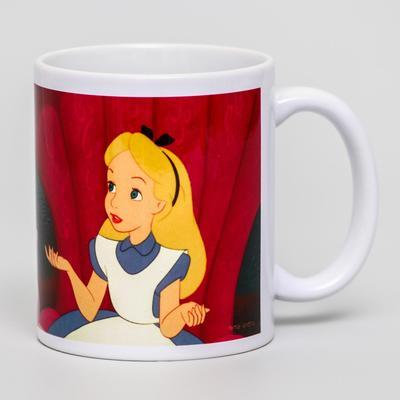 Кружка сублимация I don't care, Disney, 350 мл