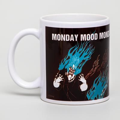 Кружка сублимация Monday mood, Villians, 350 мл - Фото 1
