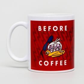 Кружка сублимация After coffee, Disney, 350 мл