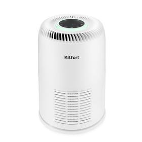 Очиститель воздуха Kitfort КТ-2812, 20 Вт, 180 м3/ч, до 20 м2, ионизация, белый Ош
