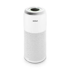 Очиститель воздуха Kitfort КТ-2813, 20 Вт, 200 м3/ч, до 25 м2, ионизация, белый Ош