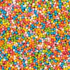 Драже сахарное «Бисер цветной», микс, 50 г
