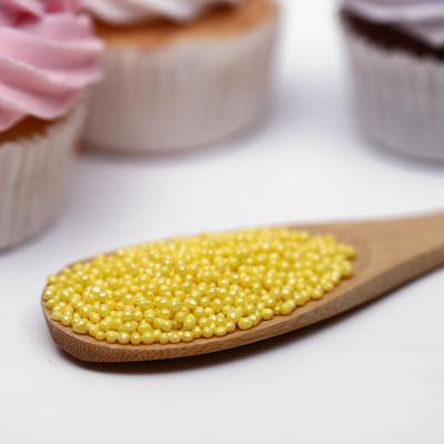 Драже сахарное «Бисер цветной», жёлтый, 50 г