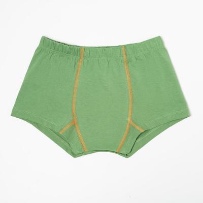 Трусы-боксеры для мальчика, цвет зелёный, рост 92 см - Фото 1