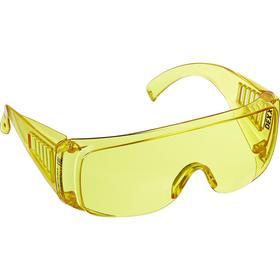 Очки защитные DEXX 11051_z01, открытого типа, с боковой вентиляцией, желтые