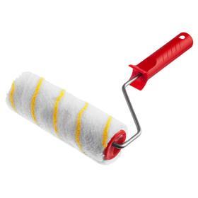 Валик малярный POLYTEX MIRAX 03716-18, 180 мм, d=40 мм, ворс 12 мм, ручка d=6 мм