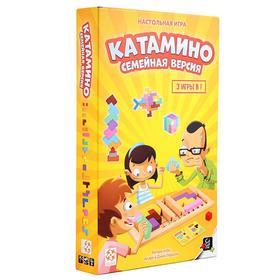 Настольная игра «Катамино. Семейная версия»