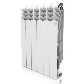 УЦЕНКА Радиатор алюминиевый Royal Thermo Revolution, 500 x 80 мм, 8 секций