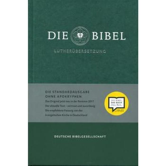 Foreign Language Book. Die Bibel. Lutherubersetzung. На немецком языке, цвет зелёный