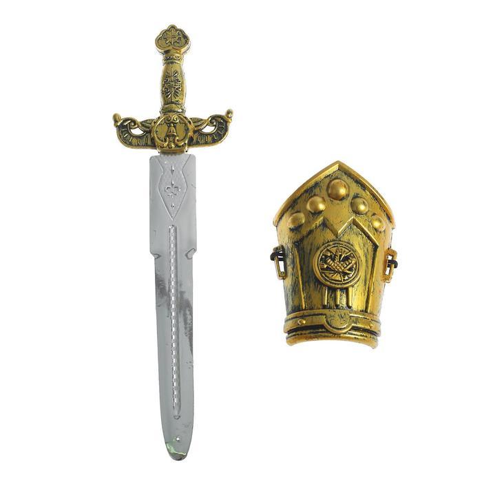 Набор богатыря маленький меч, нарукавник