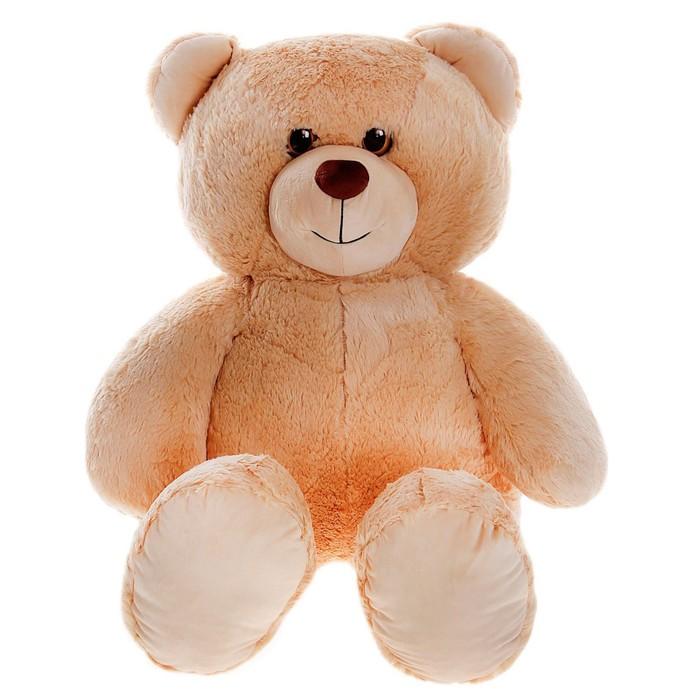 Мягкая игрушка Медведь светло-коричневый, МИКС