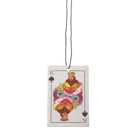 Ароматизатор подвесной картонный 'Freshco Игральные карты Король Пик' Шоколад Ош