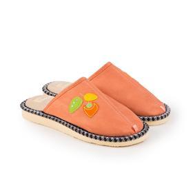 Тапочки женские, цвет персиковый, размер 37