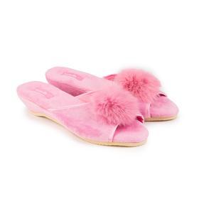 Тапочки детские, цвет розовый, размер 31