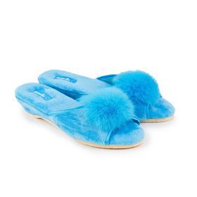 Тапочки детские, цвет голубой, размер 30
