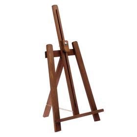Мольберт настольный 'Лира' 550х260х250 мм, до А3, цвет коричневый, Малевичъ 132002 Ош