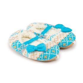 Тапочки детские, цвет голубой, размер 27 Ош