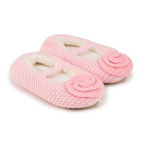 Тапочки детские, цвет розовый, размер 27 Ош