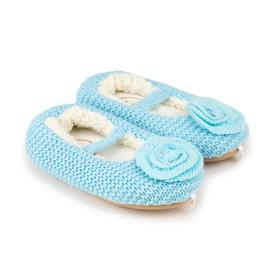 Тапочки детские, цвет голубой, размер 26 Ош