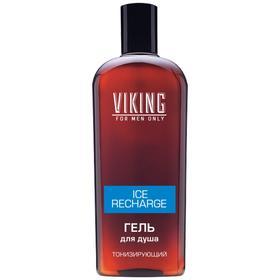 Гель для душа Viking Ice Recharge, тонизирующий, 300 мл