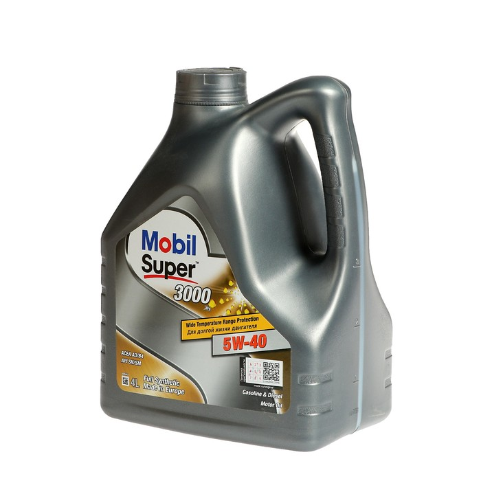 Моторное масло Mobil SUPER 3000 X1 5w-40, 4 л