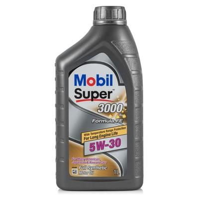 Моторное масло Mobil SUPER 3000 X1 Formula FE 5w-30, 1 л