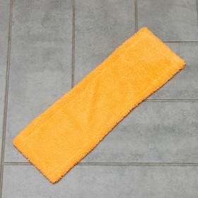 Насадка для плоской швабры 40×10 см, микрофибра, цвета МИКС