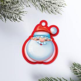 Шильдик на подарок «Дедушка Мороз», 5 × 6 см Ош
