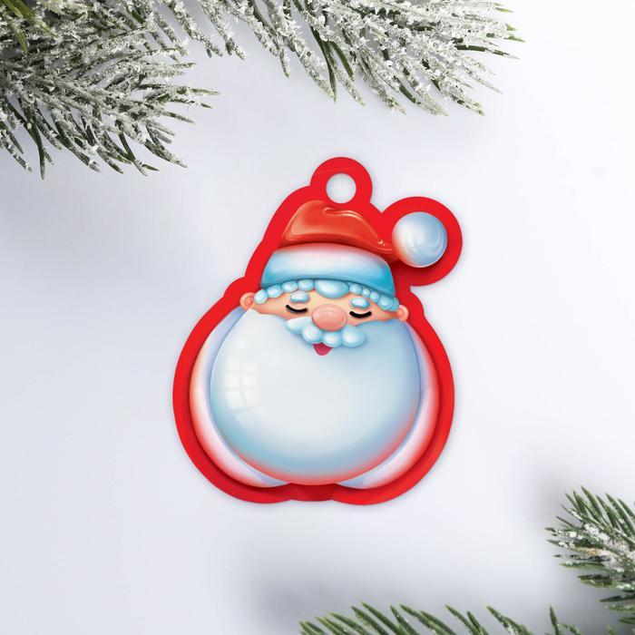 Шильдик на подарок Дедушка Мороз, 5 6 см