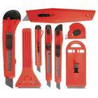 Набор ножей Matrix 78991, выдвижные лезвия, 9мм-4, 18мм-2, 40-52 мм, 2 штуки