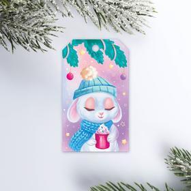 Шильдик на подарок «Пушистый друг», 4,7 × 8  см Ош