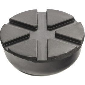 Резиновая опора для подкатного домкрата Matrix 50910, D 89 мм, d 60 мм, H 35 мм Ош