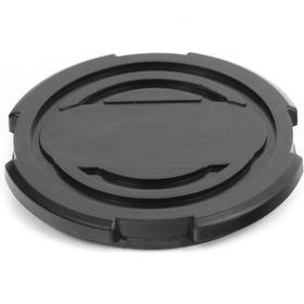 Резиновая опора для подкатного домкрата Matrix 50912, D 100 мм, d 90 мм, H 12 мм Ош