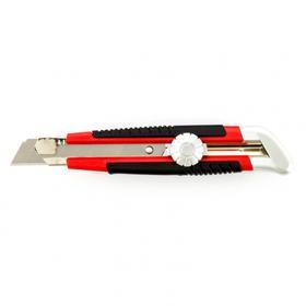 Нож унивесальный Matrix 78914, выдвижное лезвие, металл, винтовой фиксатор, 18 мм