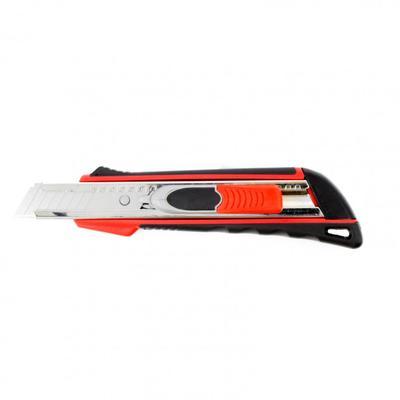 Нож унивесальный Matrix 78936, выдвижное лезвие, металл, 2-й фиксатор, 18 мм