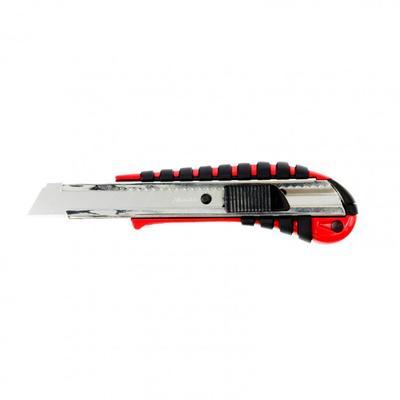 Нож унивесальный Matrix 78938, выдвижное лезвие, двухкомпонентная рукоятка, 18 мм