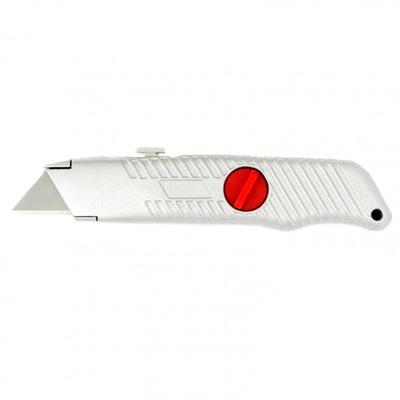 Нож Matrix 78964, выдвижное трапециевидное лезвие, металлический корпус, 18 мм