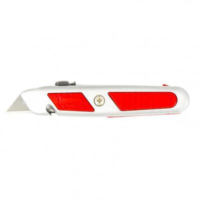 Нож Matrix 78964, выдвижное трапециевидное лезвие, металлический корпус