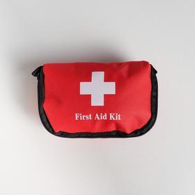"Косметичка дорожная ""First Aid"", 14*9*4 см"